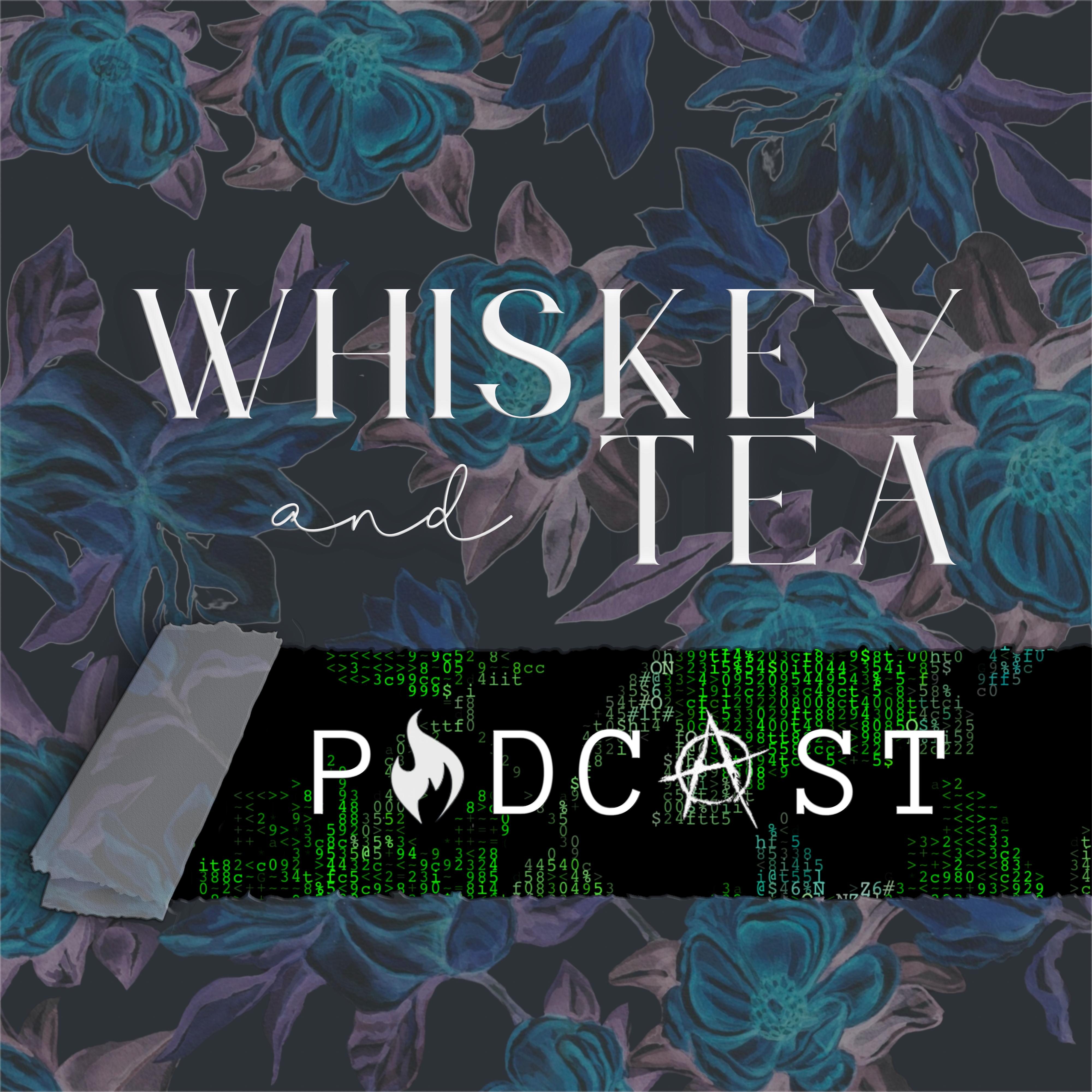 creative artistic custom logo whiskey tea podcast political flowers matrix anarchy